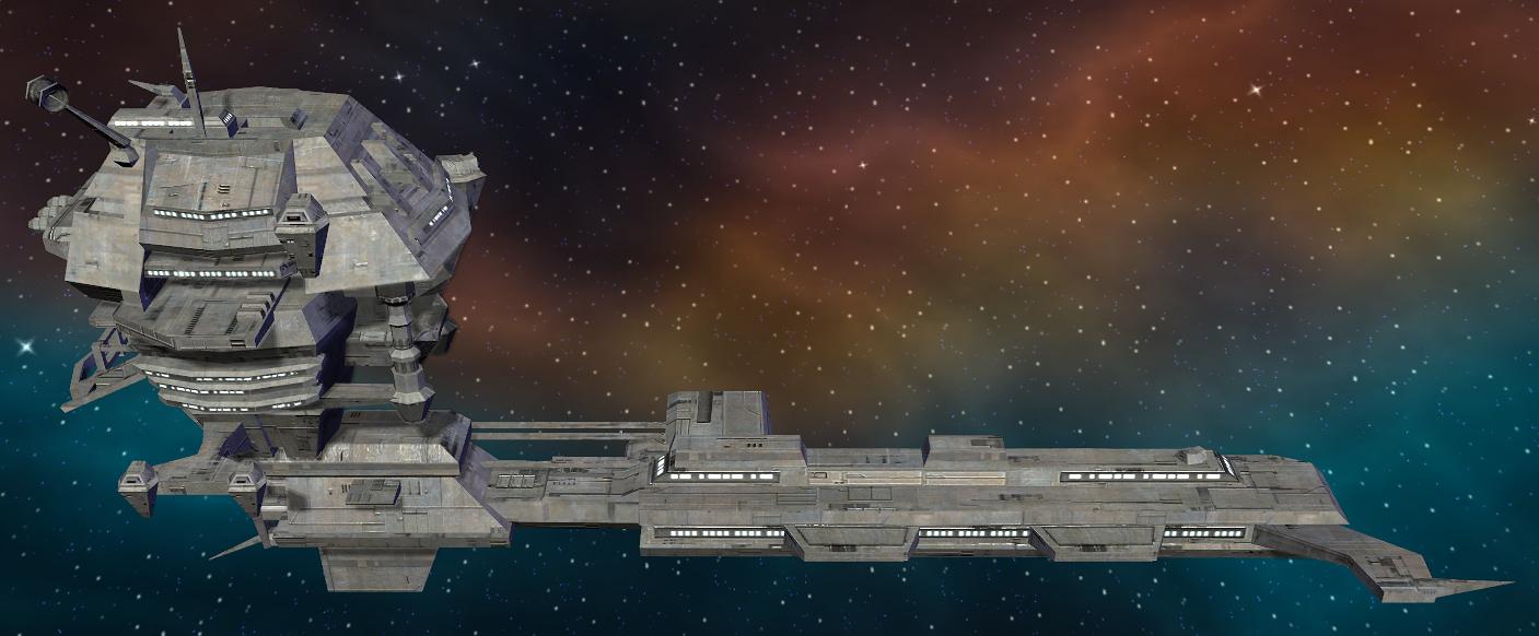 Cardan II-Class Space Station