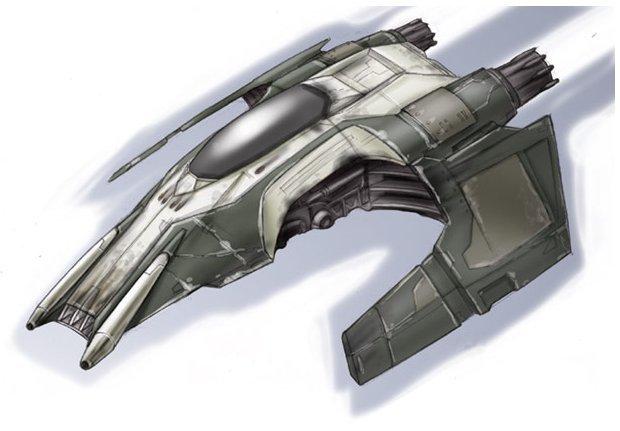 Cutlass-9 Patrol Fighter