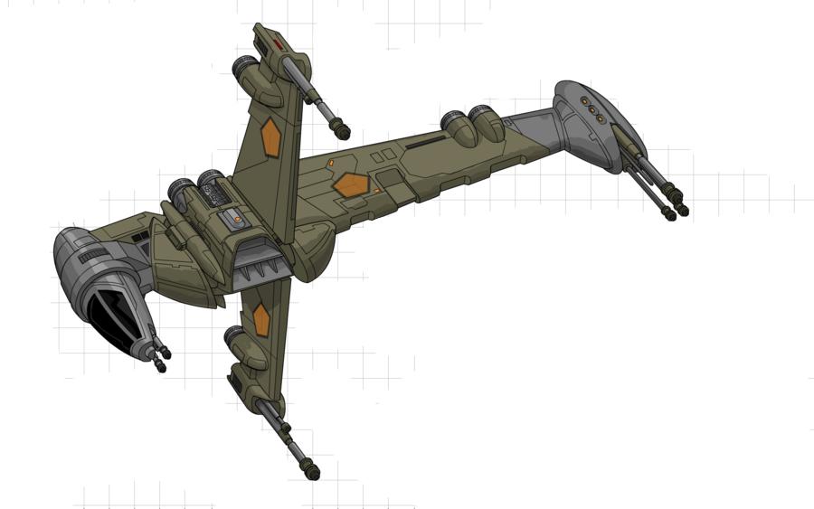 B-Wing\E2 Starfighter