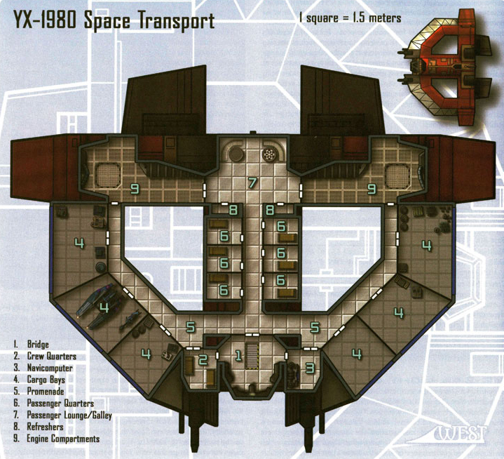 Corellian YX-1980 Transport