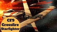 Legacy Era Rogue Squadron Ship - CF9 Crossfire Starfighter - Star Wars Legends Ships