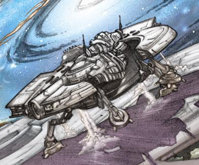 Corellian YM-2800 Limpet Ship