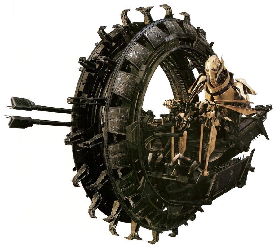 Grievous' Personal Wheel Bike
