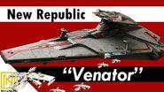 """NEW REPUBLIC """"VENATOR"""" - Endurance-class Fleet Carrier - Star Wars Ships"""