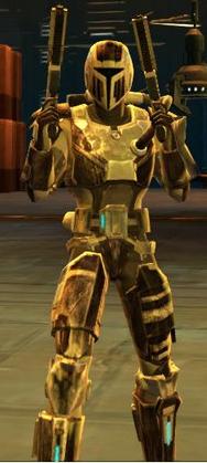 Mandalorian Seeker armor
