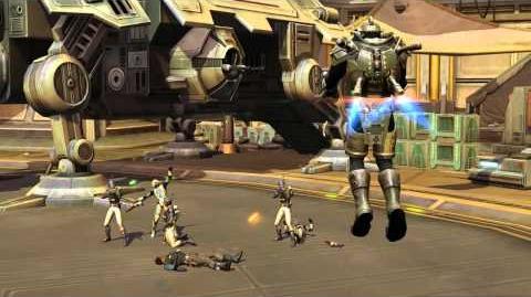 STAR WARS™ The Old Republic™ - Character Progression - Bounty Hunter