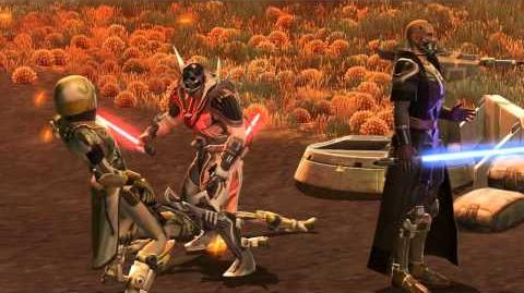 Star Wars The Old Republic - Sith Warrior Progression Video