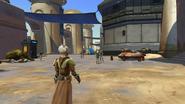 Een stad op Tatooine