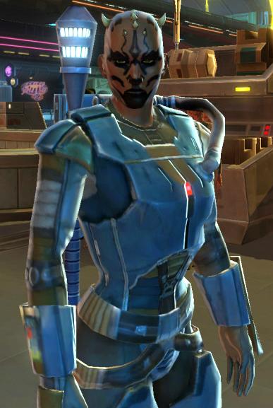 Mercenary Elite Prototype Armor