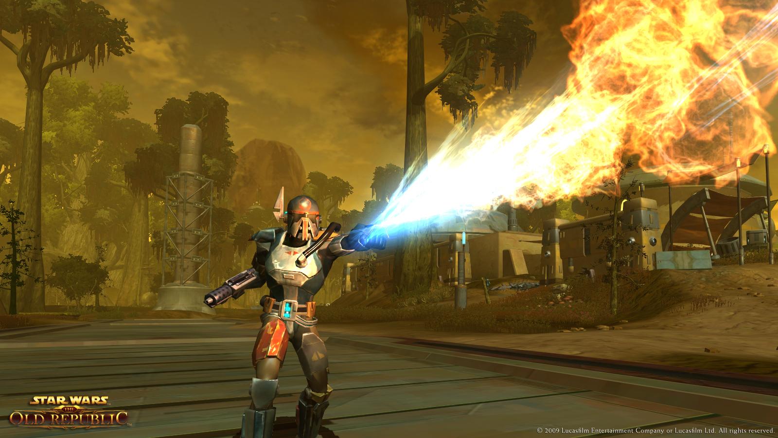 Flamethrower Star Wars The Old Republic Wiki Fandom