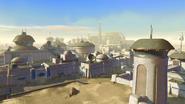 Een havenpoort op Tatooine