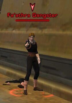 Fa'athra Gangster