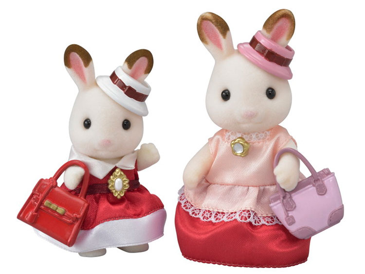 nella casella Nuovo di Zecca Sylvanian FAMILIES Dress Up Duo Set 6001 per Bambini Giocattolo Età 3