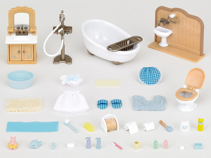 Country Bathroom Set 5034 Sylvanian Families Wiki Fandom