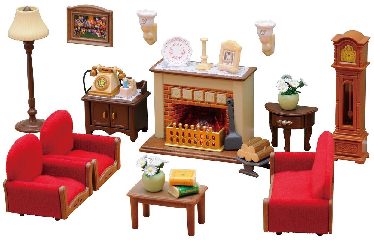 Luxury Living Room Set Sylvanian, Luxury Living Room Set Sylvanian Families