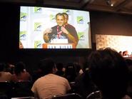 Genndy Tartakovsky talks at San Diego Comic-Con (2010) about his new show Sym-Bionic Titan