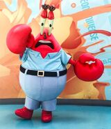 Mr. Krabs walk-around character