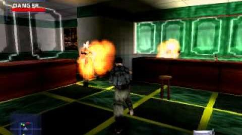 TV's Game Glitches 3 Flaming Batons (Syphon Filter)