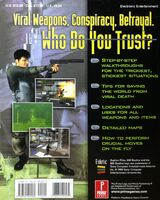 Syphon Filter 1 Strategy Guide Back