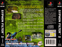 Syphon Filter 2 Back PAL Cover