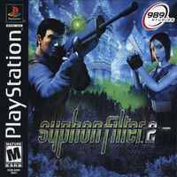 Syphon Filter 2 USA Cover