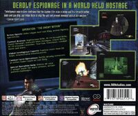 Syphon Filter 2 USA Back Cover