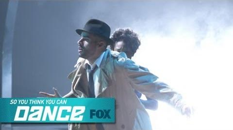Aaron & Jasmine H Top 17 Perform SO YOU THINK YOU CAN DANCE FOX BROADCASTING