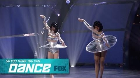 Amy & Jasmine Top 4 Perform SO YOU THINK YOU CAN DANCE FOX BROADCASTING