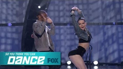 Fik-Shun & Amy Top 6 Perform SO YOU THINK YOU CAN DANCE FOX BROADCASTING