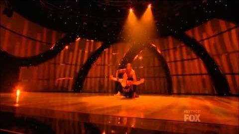 SYTYCD Season 10 - Top 20 Perform - Amy and Fik-Shun