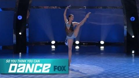 Makenzie Solo Top 16 Perform SO YOU THINK YOU CAN DANCE FOX BROADCASTING