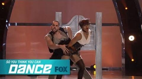 Jasmine H & Aaron Top 12 Perform SO YOU THINK YOU CAN DANCE FOX BROADCASTING