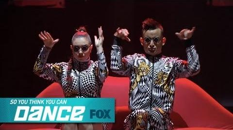 Jenna & Mark Top 8 Perform SO YOU THINK YOU CAN DANCE FOX BROADCASTING