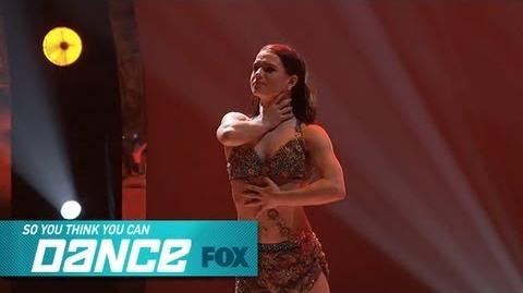Amy Top 6 Perform SO YOU THINK YOU CAN DANCE FOX BROADCASTING