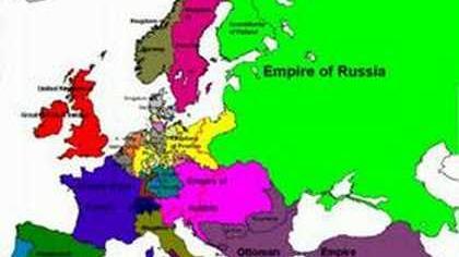 Politische Grenzen in Europa 1519 - 2006 - Political Borders of Europe from 1519 to 2006