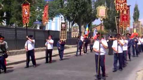 Крестный ход Луганск