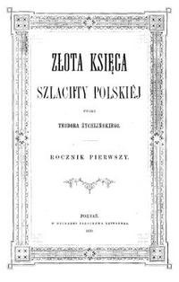 Złota Ksiega Szlachty Polskiej