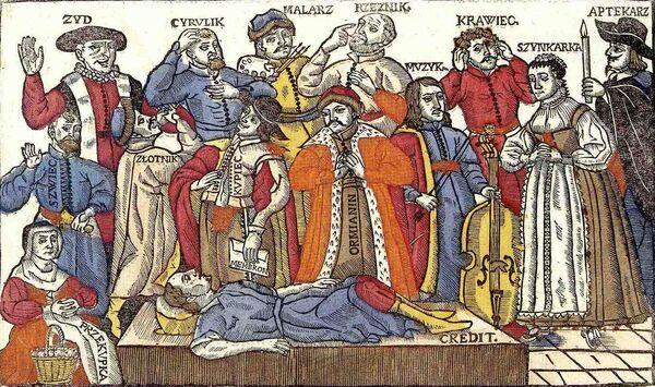 Zeitgenössisches-Bild-des-Jammerns-aller-Gewerke-des-dritten-Standes-und-Juden-über-den-toten-Kredit.jpg