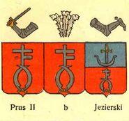 Wappen Prus I I Abwandlungen nach Chrzański publiziert durch Graf Uruski
