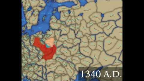 Polnische Grenzen 990 - 2010 * Borders of Poland 990 - 2010