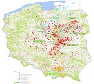 Sagen des Wappen Prus - Siedlungsgebiete-Gesamtdarstellung