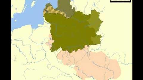 Lithuania Borders 1240 - 2010