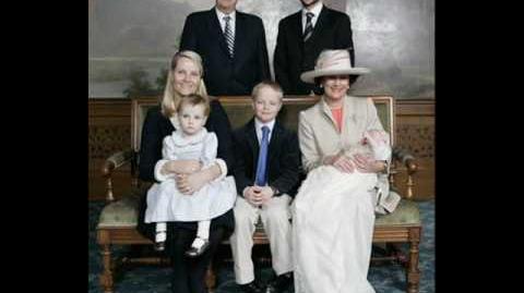 Princess Mette-Marit and Prince Haakon Family