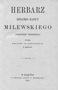 Buchtitel-Herbarz Ignacego Kapicy Milewskiego