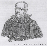 Kacper Niesiecki des Wappens Poraj