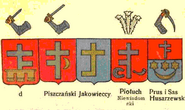 Wappen Prus I Abwandlungen d nach Chrzański publiziert durch Graf Uruski
