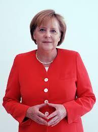 Posen von Angelika Merkel