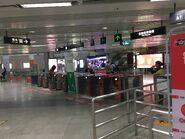 Futian Checkpoint exit gate 29-05-2019