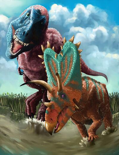 Daspletosaurus vs. Pentaceratops.jpg
