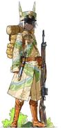 Infantry, Green Uniform